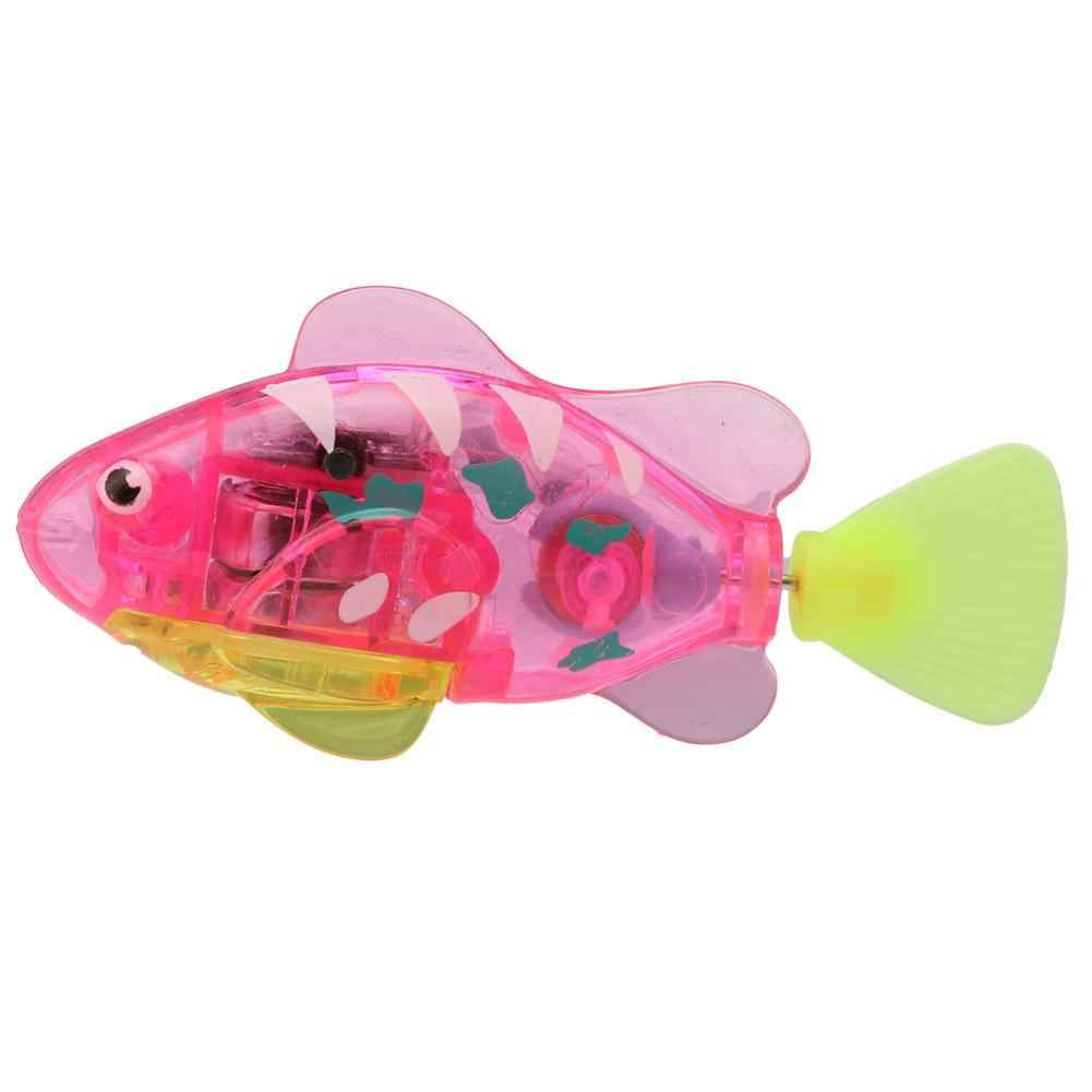 Zwemmen Elektronische Vis Activated Batterij Vis Aangedreven Speelgoed Voor Kinderen Kid Baden Speelgoed Gift Multi-Gekleurde