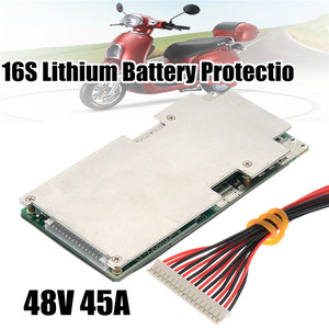 Image 4 - 16S 45A 48V Li Ion Lithium Lifepo4 Battery Power Protection Board Bms Lfp Pcm Pcb Integrated Circuits Board For E Bike Electri