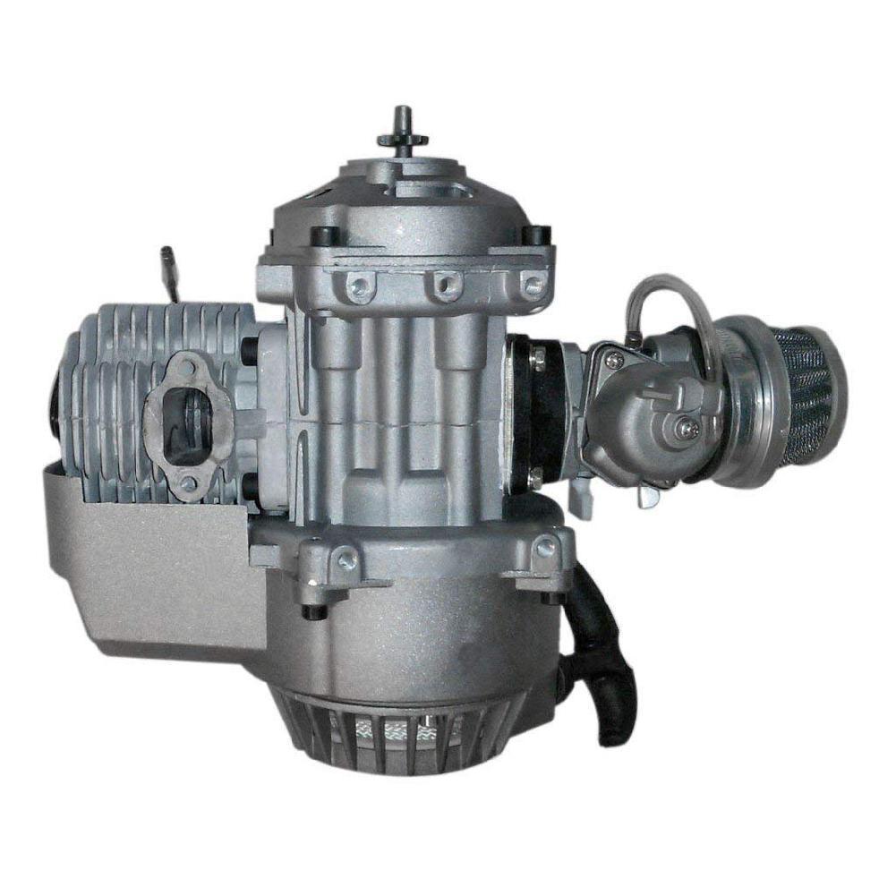 49cc 2 Hub Pull Start-Motor Motor Getriebe Motor Mini Tasche PIT Quad Dirt Bike ATV 4 Rad Zubehör r20