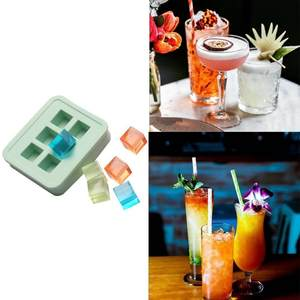 ISHOWTIENDA Party Ice Cube Silicone Ice Tray Accessories