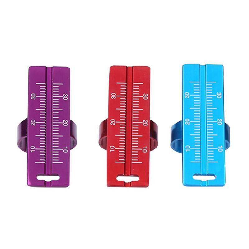 1PC Metal Dental Ring Ruler Dentist Instrument Ruler Root Canal Measuring Tool For Dentist Finger Ring Ruler