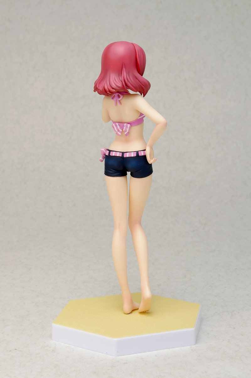 Love Live Swimsuit Ver Maki Nishikino Bikini Kartun Gambar Japan Anime Model Yang Indah Action Figure Collectible Model Mainan Anak
