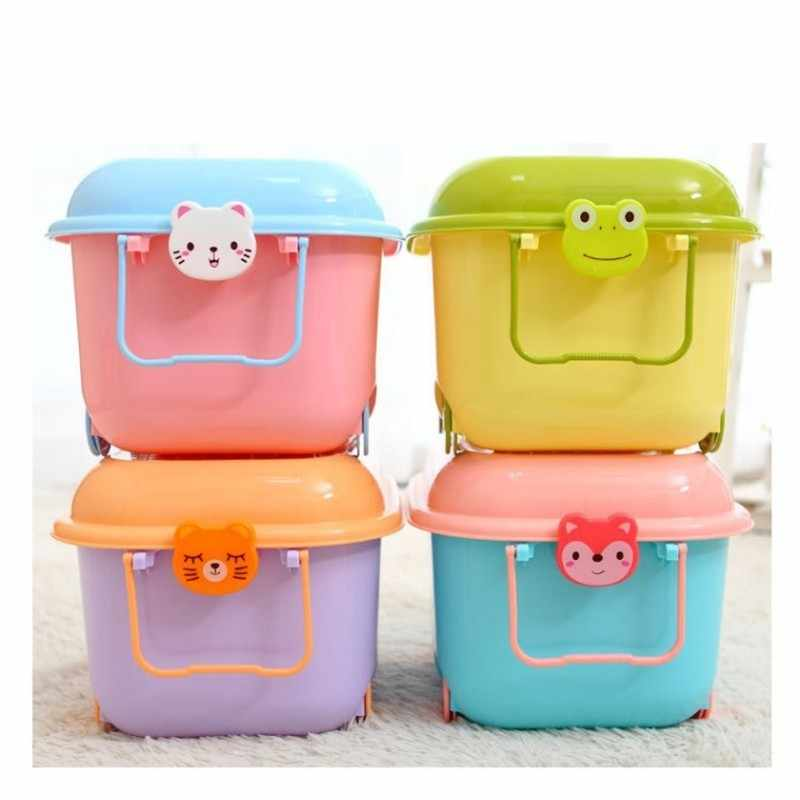 Plastic Storage Box For Toys With Lid
