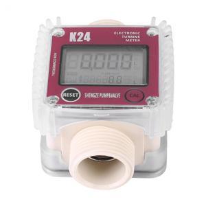 Image 4 - Цифровой измеритель расхода топлива K24, измеритель расхода топлива, дизельного топлива, для химикатов, измеритель жидкой воды, инструменты, тестер, новинка 2019