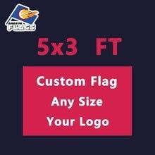 5x3 фута Флаги На Заказ флаги и баннеры с полиэстером для рекламы камуфляж ЛГБТ флаги бесплатный дизайн торговля