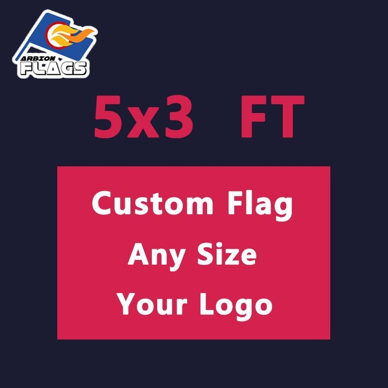 5x3FT Flag Custom Flags And Banners with Polyester For Advertising Camouflage LGBT Flags Free Design Free