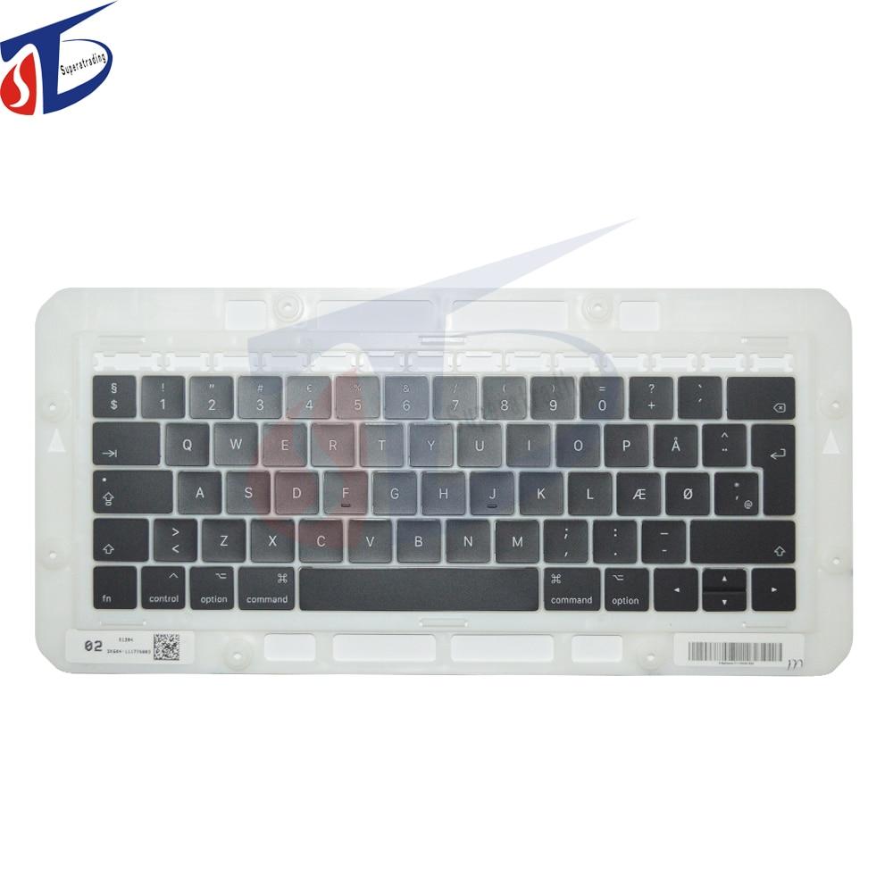 New A1706 A1707 Laptop DEN Keyboard Keycap Keys for font b Macbook b font Pro Retina