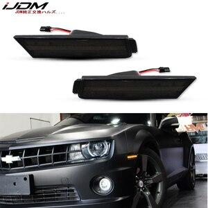 Image 1 - IJDM marqueur frontal, feux pour Chevy Camaro, 12V ambre, LH RH, alimenté par 26 lumières de SMD LED, 2010, 2015