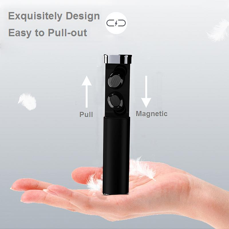 Image 5 - Portable Earphones Wireless Bluetooth 5.0 Mini Subwoofer Waterproof TWS Earbuds Stereo Hd Sounds Music Sports Outing Devices-in Bluetooth Earphones & Headphones from Consumer Electronics