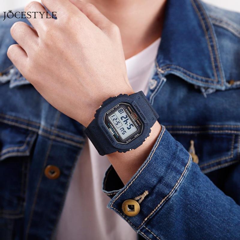 100% Wahr Mode Männer Uhren Sport Digital Uhr Wasserdicht Alarm Mann Handgelenk Elektronische Uhr Im Freien Elektronische Armbanduhr Dropshipping