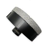 DT-DIATOOL 1pc Dia 115mm Vakuum Gelötete Diamant Bohren Bits Loch Sah M14 Gewinde Bohrer Core Bits Für Porzellan marmor Fliesen