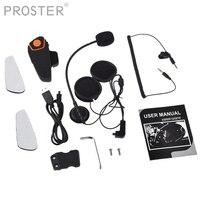 PROSTER Walkie Talkie K head Wireless bluetooth headset Adapter for baofeng kenwood microphone arpiece radio Socotran