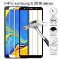 Защитное стекло, закаленное стекло для Samsung galaxy a8 a7 a6 a9 plus 2018 a9200 a750 a 7 8