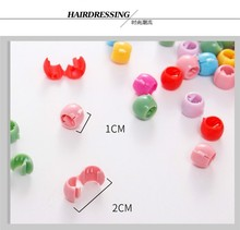 Candy Colors Plastic Hairpins