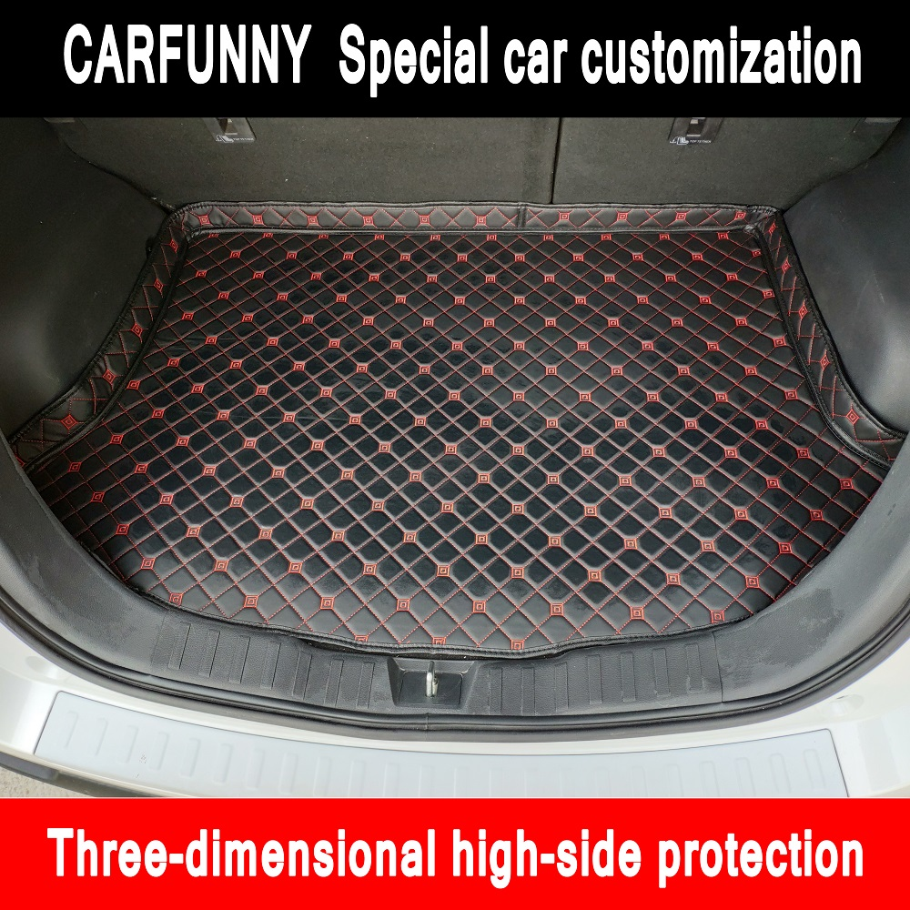 New high side Car Trunk Mats For <font><b>Mercedes</b></font> Benz <font><b>B</b></font> class W245 W246 <font><b>180</b></font> 170 160 20 Car Cargo Rear Boot Liner Trunk Mat Carpet image