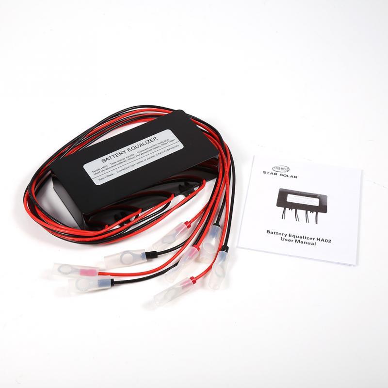HA02 48V Solar System Battery Equalizer Battery Balancer Charger Controller For Lead acid Batteries Tool Discount