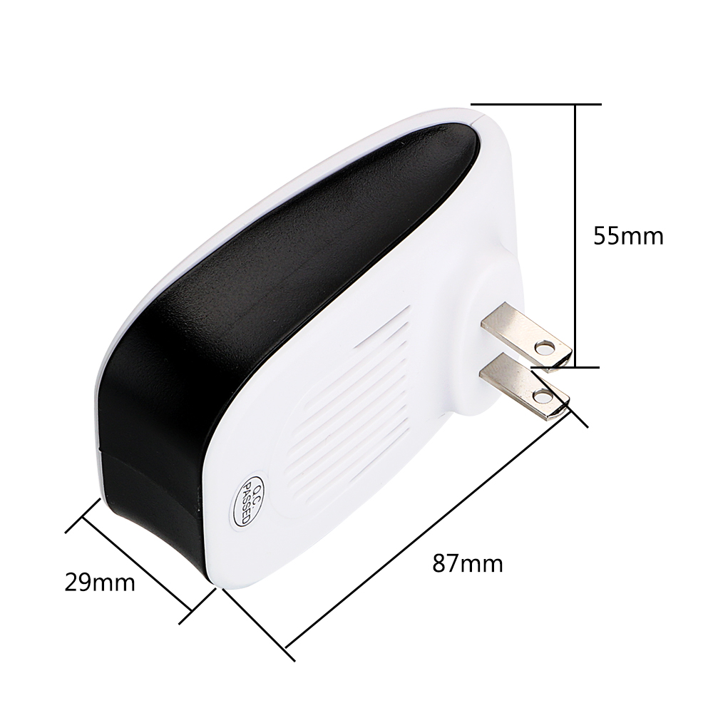 Image 5 - HOOMIN Rodent Control Indoor Cockroach Mosquito Insect Killer Ultrasonic Pest Repeller EU/US Plug Electronic mosquito repellent-in Repellents from Home & Garden
