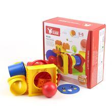 15 Pcs Creative DIY Building Blocks Large Plastic Pipeline Game Brick Educational Toys for Kids все цены