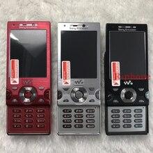 המקורי משופץ Sony Ericsson W995 נייד טלפון 8MP 3G WIFI סמארטפון נייד