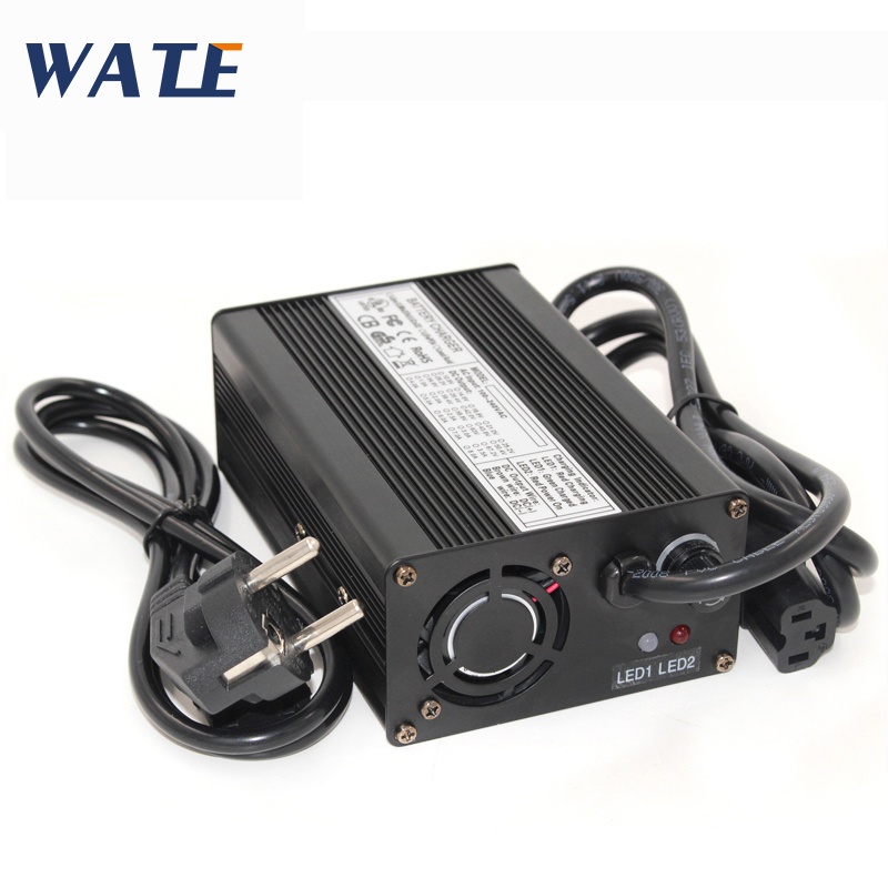 54.6V 2A Lithium Battery Charger for 13S 48V Li-ion Lipo Battery Power Tool