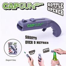 Cap Magnet Metal Bottle-Opener Launcher-Tool Beer ABS Gun-Shape Creative Portable