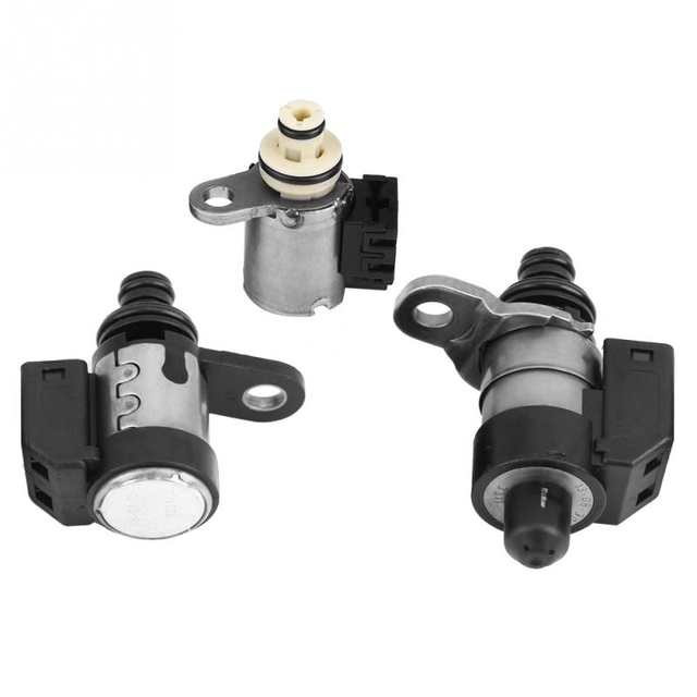 US $65 77 19% OFF|Transmission Solenoids Kit Set (7Pcs) for Nissan  Pathfinder 2002 2018 RE5R05A auto accessorie Automatic Transmission  Parts-in