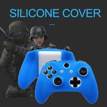 Rondaful High Quality Studded Anti-slip Silicone Skin Cover Set Forxbox One Slim/xbox X Slim Controller & Stick Grip Cap