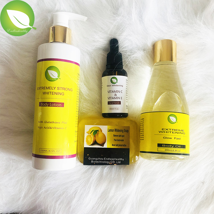 Beauty skin whitening glutathione vitamin c skin whitening body skin care whitening set whitening products for