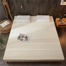 % 100% doğal lateks yatak yumuşak ve rahat vücut masajı vücut Relax basıncı High end yatak odası mobilyası mat