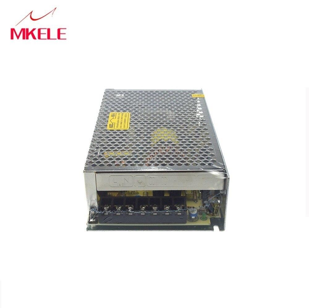 Originele MS 200 ENKELE Output 200 W Schakelende Voeding 110V 220V AC To DC 12V 24V CE Voltage Regulator