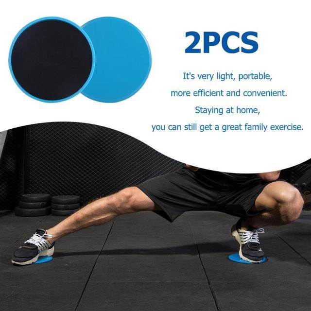b1de805c2 2pcs Gliding Discs Slider Fitness Disc Exercise Sliding Plate for Yoga Gym  Abdominal Core Training Exercise