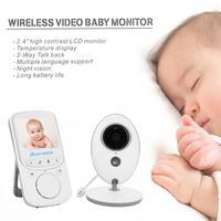 2.4 inch IR Night Vision 24h Baby Camera Baby Nanny Security Camera Night Vision Temperature Monitoring Wireless Video Color