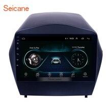 Seicane Android 8,1 9 «2din автомобильный радиоприемник для 2009 2010 2011 2012-2015 hyundai IX35 GPS; Мультимедийный проигрыватель с Bluetooth WI-FI OBD2