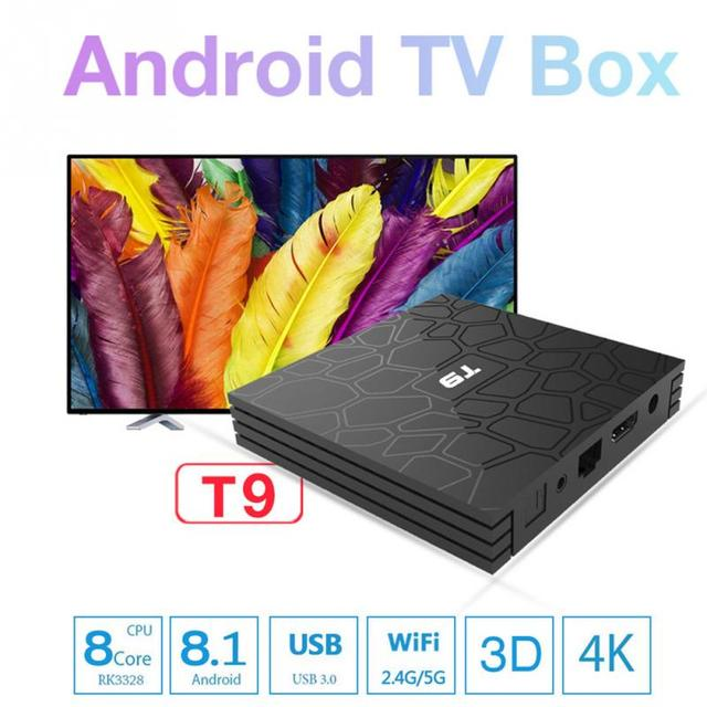 US $67 36 |WIFI Android 8 1 TV Set top Box Remote Control Bluetooth Dual  Band Home Devices Media Player-in Set-top Boxes from Consumer Electronics  on