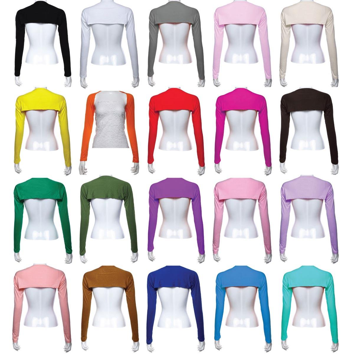 20 Colors Muslim Women Long Sleeve Shawl Arm Cover Bolero/Shrug/Wrap Sun Protection Sleeve Stretch Cover Sleeve Solid Color New