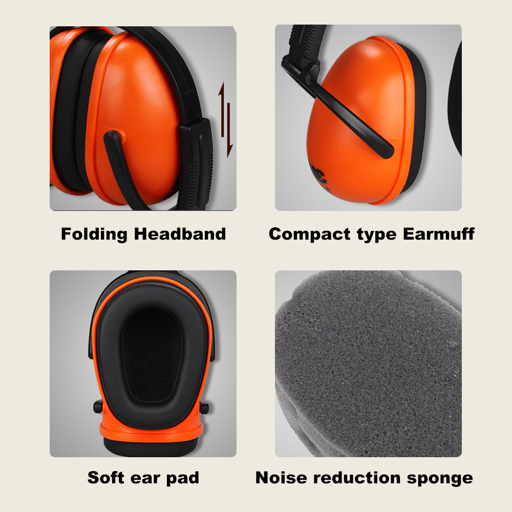 Image 4 - 3M 1436 Soundproof Earmuffs Foldable Noise Reduction Ear Muffs Comfortable for Sleeping Work Travel & Loud Events Ear ProtectionEar Protector   -