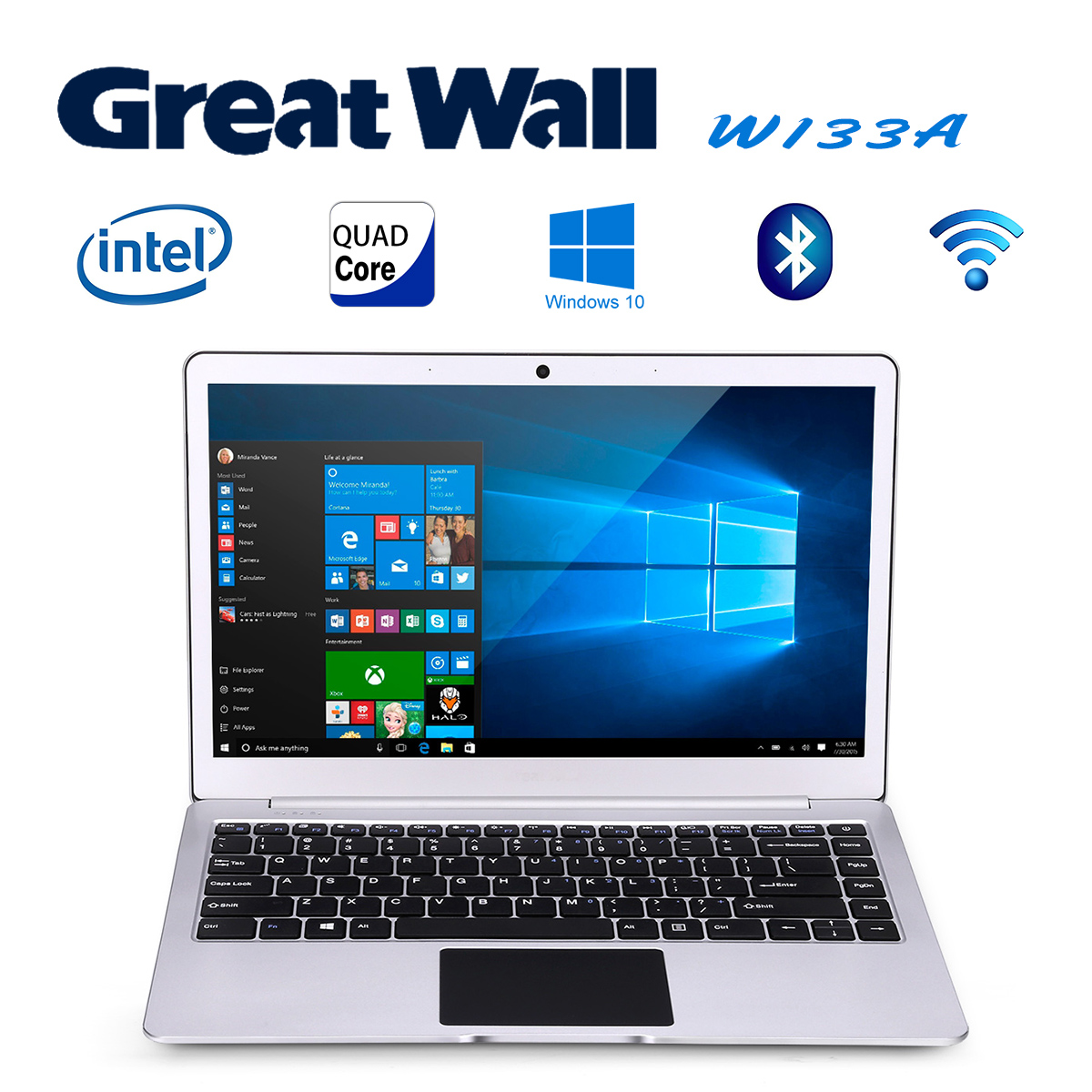 Great Wall W1333A Laptop 13.3