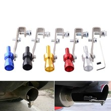 Universal Car Turbo Whistle Sound Muffler Blow Off Exhaust Tip Pipe Simulator Size S/M/LXL