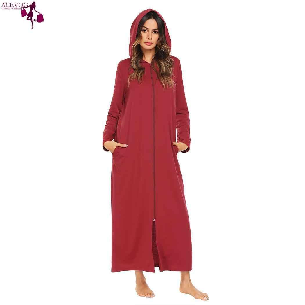 Bust Bathrobe 86cm Robe Sleeve Long Height Women Long Waist 93cm Sleepwear  Hoodie 176cm 61cm Spring 0f7fe8e61