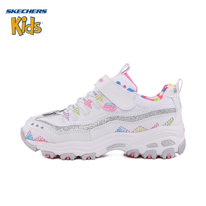 SKECHERS Kids Skye Strange Childrens Shoes Series Magic Subsidies Leisure  Time Sneakers Casual 80524L  Wmlt 80524L BKMT 9110cbc374b6