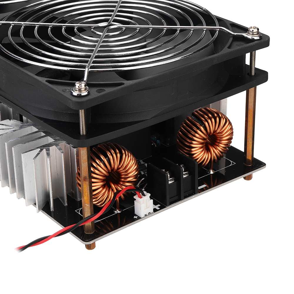Image 2 - 2500W ZVS Induction Heating Board induction heater Module Flyback Driver Heater Good Heat Dissipation 180*90*80mm + Coil-in Integrated Circuits from Electronic Components & Supplies
