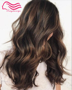 Image 3 - รับรองKosher 18 นิ้วสีน้ำตาลเข้มเน้นยุโรปVirgin Hair Kosherวิกผมชาวยิววิกผมที่ดีที่สุดSheitelsจัดส่งฟรี