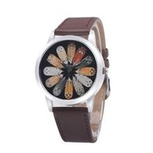 цены Fashion luxury Unisex Owl Feather Quartz Round Dial School Student Wristwatch Wrist Watch Couple Accessory NEW HOT For Gift