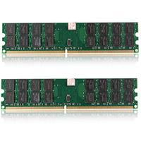 2Pcs 4GB 240Pin DIMM PC2 6400 800MHz Memory RAM for Desktop Motherboard CPU