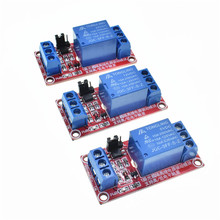 Eine 1 Kanal 5 V/12 V/24 V Relais Modul Mit Optokoppler High/Low level Trigger relais modul solid state relais modul Für Arduino(China)