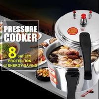 Pressure Cooker 20/24CM Aluminium Alloy Kitchen Gas Stove Cooking Energy saving Safety Protection Light weight Easy to Clean