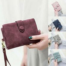arrival Women Short Wallet PU Leather Small Clutch Purse Card Holders Handbag Cute Tri-fold Multi-card Female Wallets