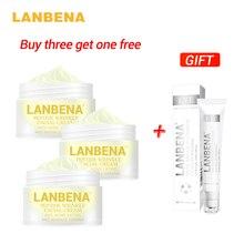 Buy 3 Get 1 Gift Lanbena Peptide Anti Wrinkle Facial Cream 3pcs + Snail Repair Eye Serum Anti Aging Skin Whitening Lifting buy 3 get 1 gift shanghai beauty peony