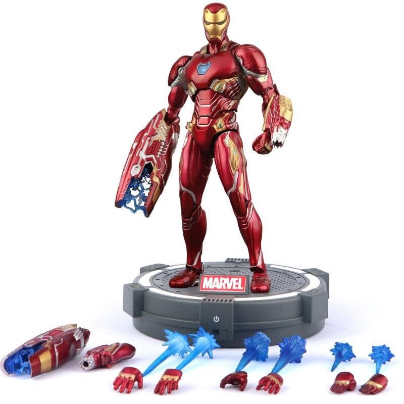 все цены на Marvel The Avengers iron Man mrke50 toys model Super hero doll онлайн