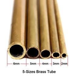 1 шт. латунные трубы 2 мм-6 мм Pipeline Engineering модель делает инструменты Латунь трубы разъемы Латунь трубы круглые режущего инструмента